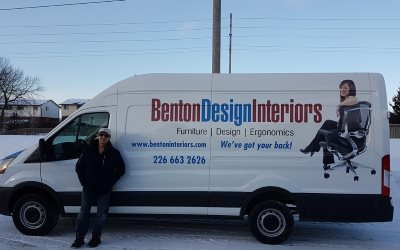 Benton Design Interiors Van